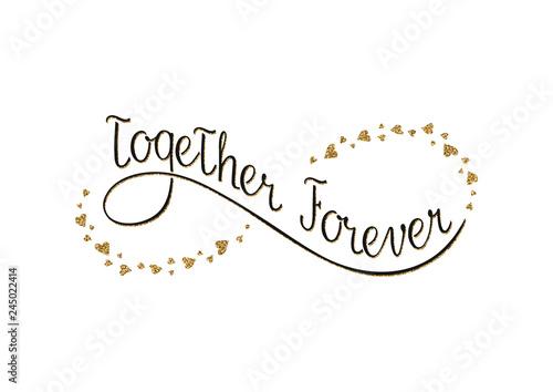 Fotografie, Obraz  Together forever