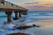 Shark Rock pier in Port Elizabeth at sunrise