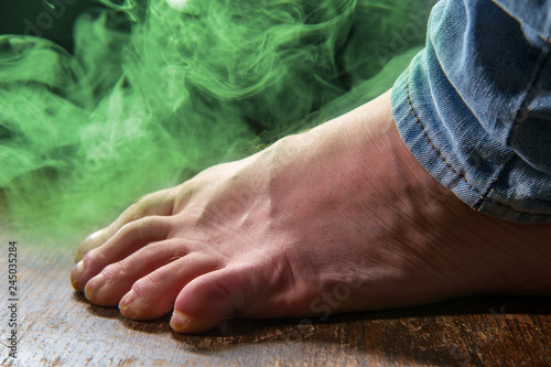 Fotografie, Tablou  Smelly Foot Colorful