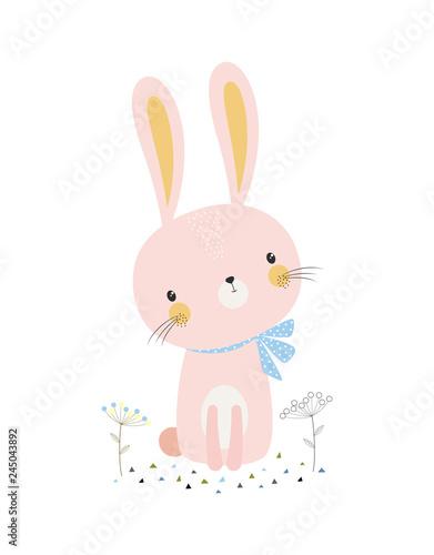 Photographie cute cartoon bunny