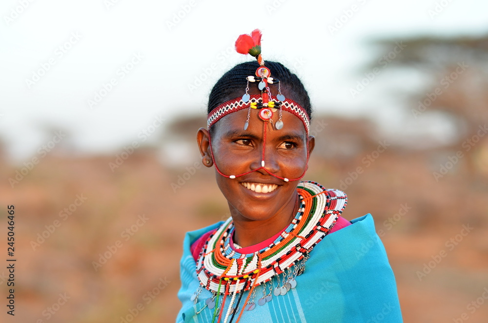 Fototapeta African Woman