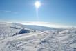 Pejzaż zimowy Karkonoszy