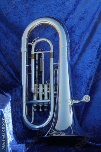 Photo Baritone on Blue