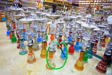 Hookahs In Arabic Style Are Th...