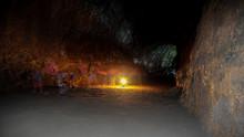 Ghosts Walking Inside Lava Riv...
