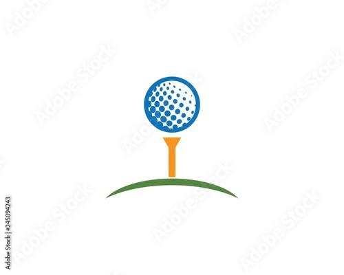Fotografia, Obraz Golf Logo Template