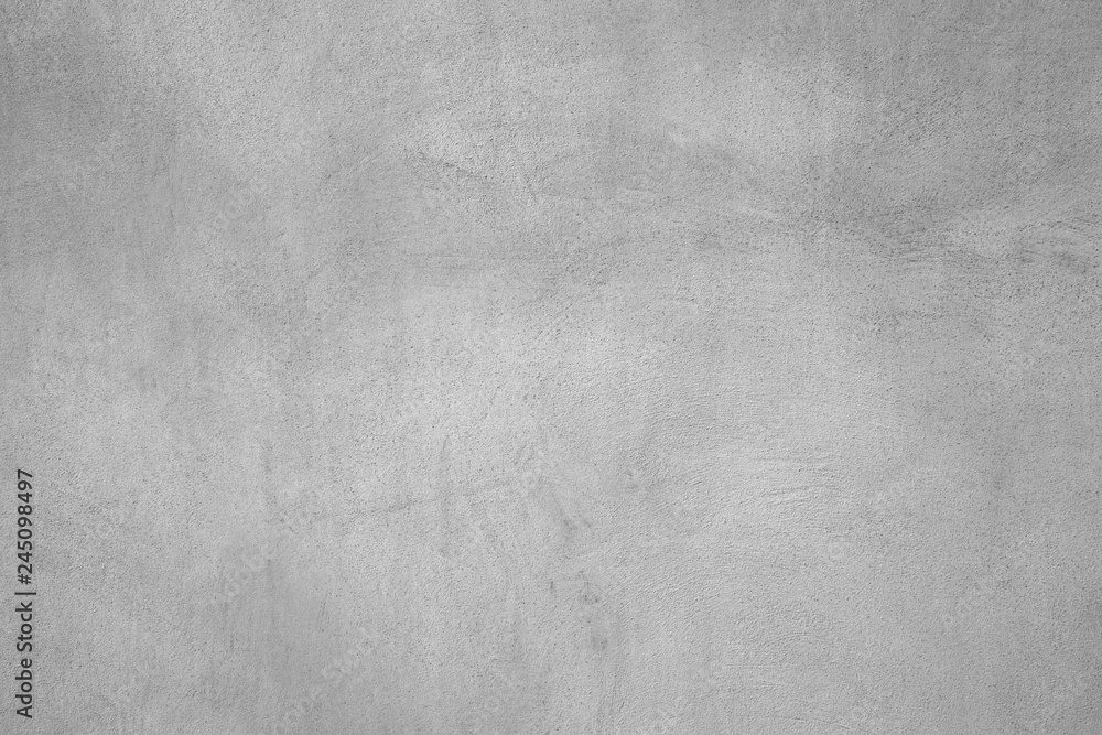 Fototapety, obrazy: close-up of gray rough concrete wall background texture