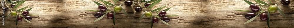 Fototapety, obrazy: Gałązki oliwki