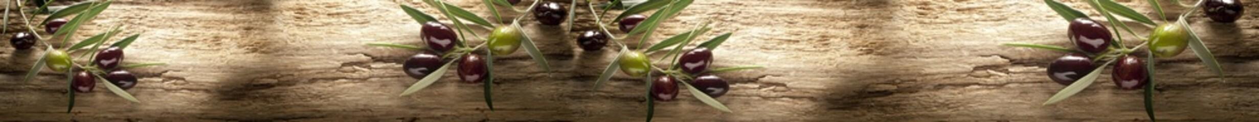 FototapetaGałązki oliwki