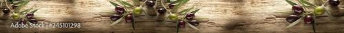 Keuken foto achterwand Olijfboom Gałązki oliwki