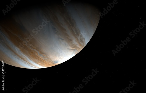 Valokuvatapetti Jupiter - High resolution 3D images