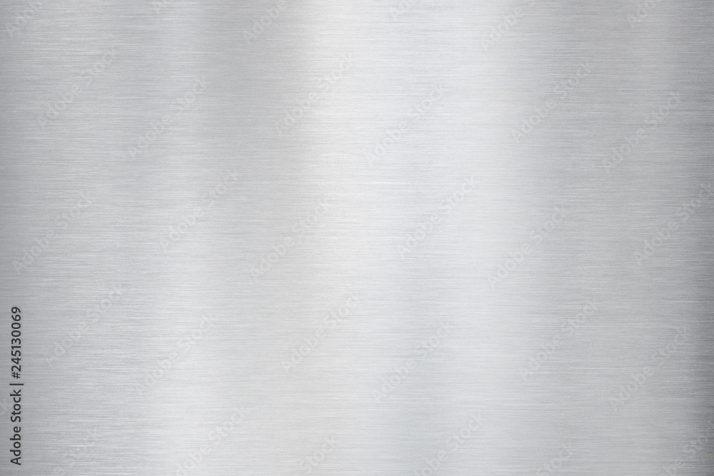 Fototapety, obrazy: metal brushed aluminium texture or background