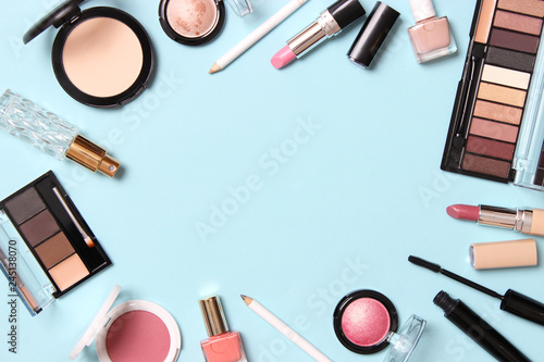 professional makeup tools Fototapet