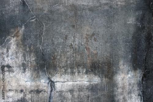 Obraz na plátně シミとヒビのあるコンクリート