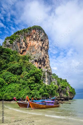 Deurstickers Asia land Railay beach in Krabi, Thailand