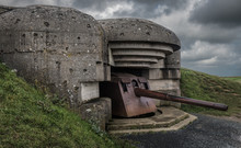 The German Gun Battery Of Long...