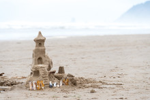 Sandcastle At The Beach
