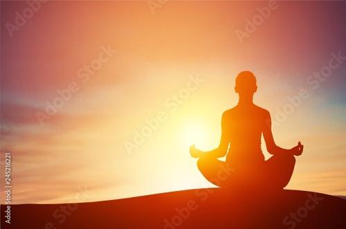 Canvastavla Meditation.