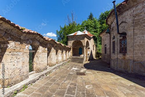 Medieval buildings in Sokolovo (Sokolski) Monastery Holy Mother's Assumption, Ga Fototapete