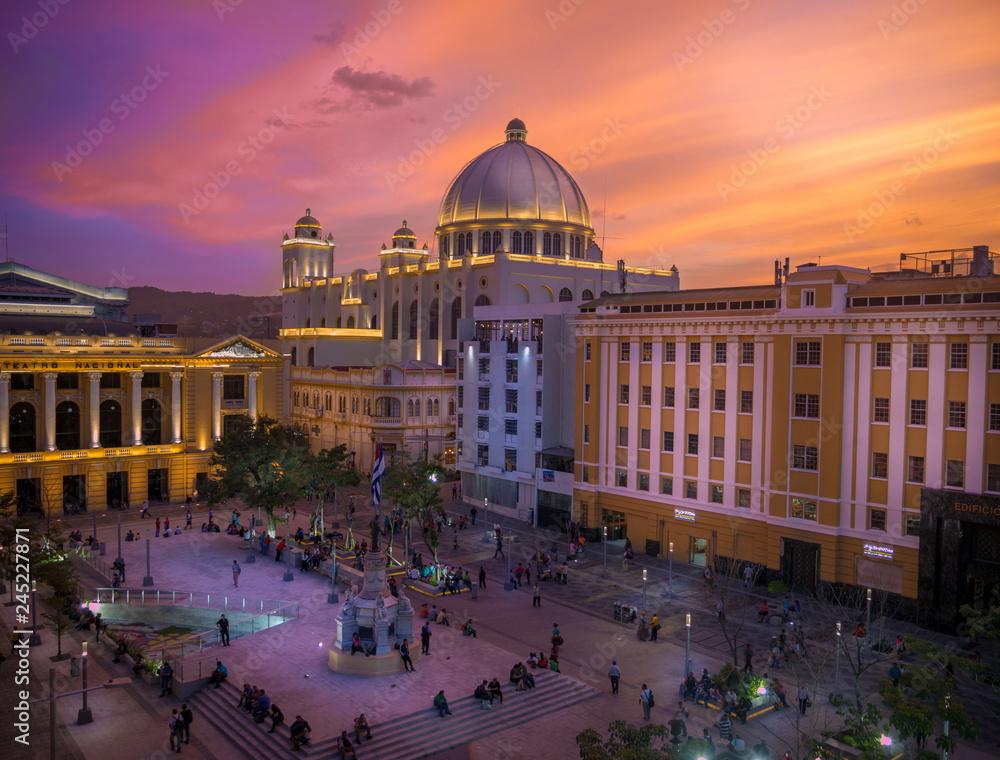 Fototapety, obrazy: Historic Center of San Salvador