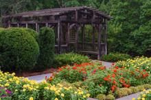 Garden Gazebo At The Arboretum