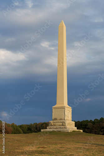 Fotografie, Obraz  Ohio monument at the Andersonville National Historic site in Andersonville, Geor
