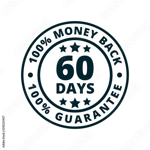 Fotografía  60 Days Money Back illustration