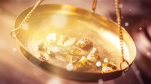 Small Gold Nuggets In An Antiq...
