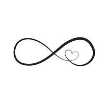 Infinity Sign, Vector Illustra...