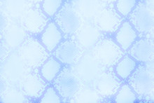 Snake Skin Pattern Texture Repeating Seamless Blue. Vector. Texture Snake. Fashionable Print. Fashion And Stylish Background