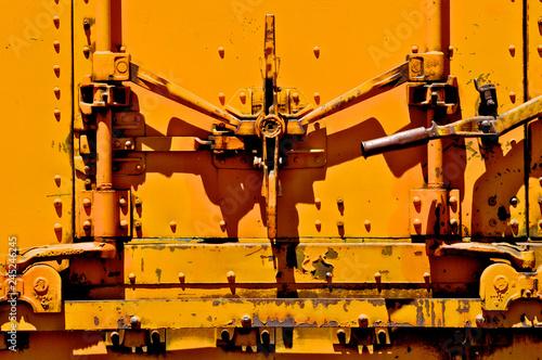 Fotografie, Obraz  Rail Boxcar Door