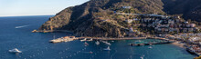 Avalon Harbor On Catalina Isla...