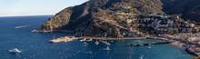 Avalon Harbor On Catalina Isla...