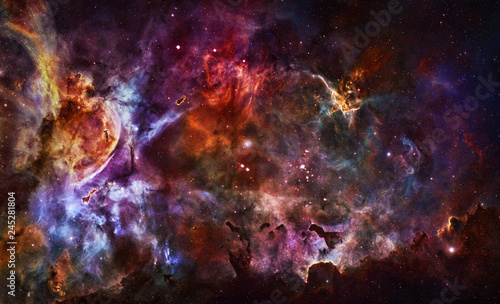 Glorious Sky - Elements of this Image Furnished by NASA - 245281804