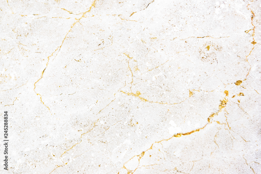 Fototapeta Close up of a white marble textured wall