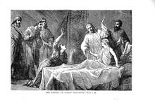 Jesus Brings The Rulers Daughter To Life Again