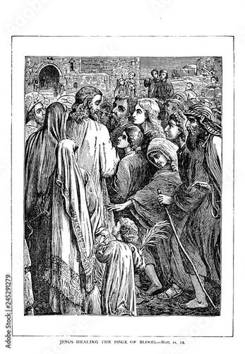 Fotografie, Obraz Jesus rides into Jerusalem