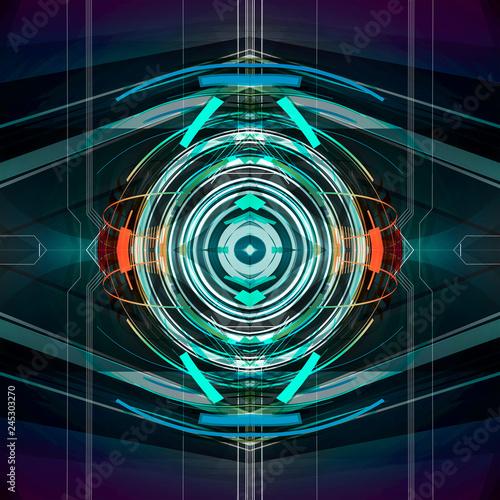 абстрактный красочный узор на фоне
