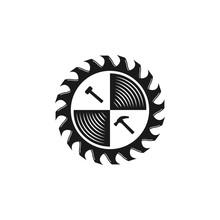 Woodworking Gear Logo Design T...