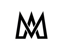 M Am Logo Black 1