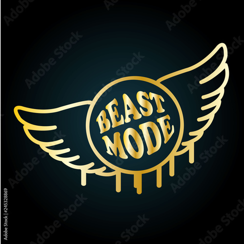 Fotografie, Obraz  Beast Mode