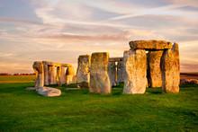 Close Up View Of Stonehenge Mo...