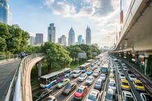 Verkehr In Shanghai, Volksrepublik China