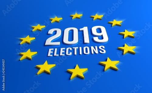 Valokuva  European elections 2019