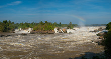 Khone Phapheng Falls Is Waterfall Located In Champasak Province On The Mekong River