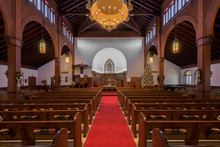 Interior Of The Grace United Methodist Church In St. Augustine, Florida