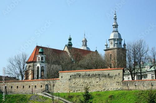 Basilica of St. Margaret. Nowy Sacz, Poland. - fototapety na wymiar