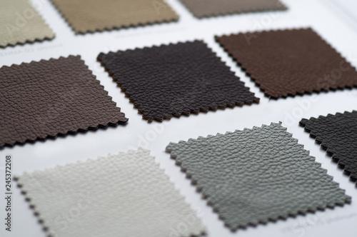 Catalog of multicolored imitation leather from matting fabric texture background, leatherette fabric texture Tapéta, Fotótapéta