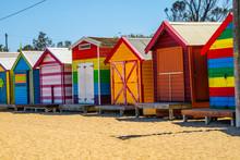 Cabanas Na Praia