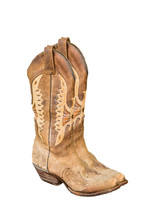 A Pair Of New Cowboy Boots